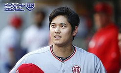 SEATTLE, WA - JULY 19:  Shohei Ohtani #17 of the Los Angeles Angels of Anaheim grabs a hat in the dugout after popping out in the first inning against the Seattle Mariners at T-Mobile Park on July 19, 2019 in Seattle, Washington. (Photo by Lindsey Wasson/Getty Images)