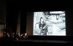 スペシャルプログラム『雄呂血』「没後 90年牧野省三の功績を偲ぶ」上映の様子  - (C)京都国際映画祭