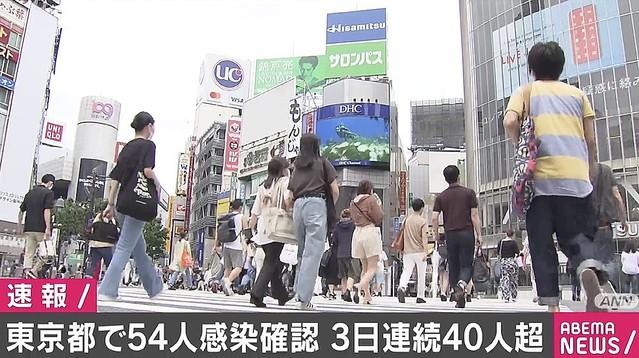 今日 の 東京 の コロナ 感染 者
