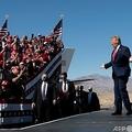 ドナルド・トランプ米大統領。米アリゾナ州ブルヘッドシティーで(2020年10月28日撮影、資料写真)。(c)MANDEL NGAN / AFP