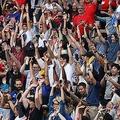 日本人ファンも世界に感動を伝えている【写真:Getty Images】