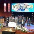米ミネソタ州ミネアポリスで行われたジョージ・フロイドさんの追悼式で、演説する遺族(2020年6月4日撮影)。(c)Kerem Yucel / AFP