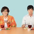 「きのう何食べた?」の映画化を喜ぶ内野聖陽(左)と西島秀俊