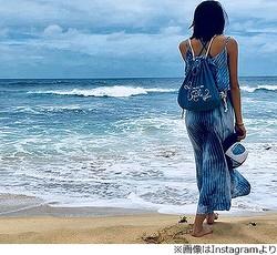 海が似合うキムタク&工藤静香次女、初の水着姿も