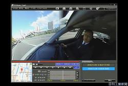 広範囲を撮影できるユピテルの「marumieQ−01」の撮影動画