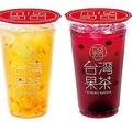 ミスドの台湾式フルーツティー「台湾果茶」限定発売、本格ジャスミンティーに様々なフルーツを合わせて
