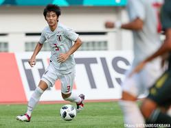 U-21日本代表DF岡崎慎(FC東京)