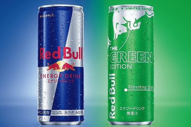 """[画像] 緑のレッドブル""""グリーンエディション""""、後味爽やかなライムフレーバー - 通常版の価格改定も"""