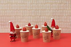 """これ、キャンドルじゃなくて""""ケーキ""""です♡12月の「SODA BAR」には映えるメニューがいろいろ"""