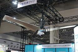 43mまでカバーする直径7.3メートルの超大型天井ファン「Blade Tec FANS」の驚きの風力とは