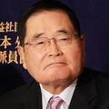亀井静香元金融担当相は、加計問題に「国民は興味持ってないよ」と断じた(2016年撮影)