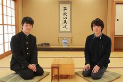 左から:藤井聡太、神木隆之介