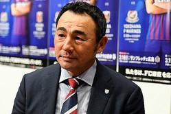 「ACLは本当に勝てば勝つほど楽しくなってくる」と語った長谷川健太監督。写真:金子拓弥(サッカーダイジェスト写真部)