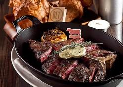 """USDA(アメリカ農務省)認定、""""格付け最高位のプライムグレードの牛肉""""のステーキ/BLT STEAK"""