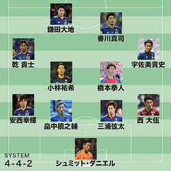 日本代表は19時30分キックオフでボリビアと対戦する。