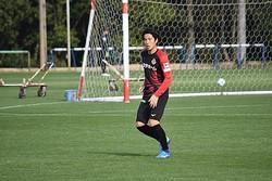 名古屋に加入の金崎夢生がチームに合流…「あの喜びを、もう一度」