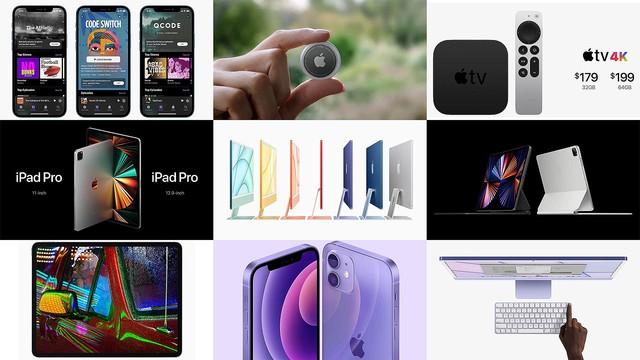 5分でわかるAppleイベントまとめ。7色カラバリ新iMac、M1搭載iPad Pro、落とし物トラッカーAirTagなど