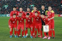 要所で見せ場を作った8番のグルジギト・アリクロフらキルギス代表の選手たち。 写真:山崎賢人(サッカーダイジェスト写真部)