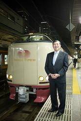 鉄道好きの石破氏。2009年に東京から鳥取まで寝台列車で移動する際に週プレも同乗し、9時間密着取材を行なったこともある。そのときは政治の話はほぼなかった