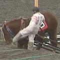 馬蹴り問題 騎手が「騎乗自粛」