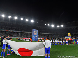日本代表の背番号が公表された