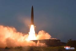 北朝鮮の弾道ミサイル試射も「初めて」?(「わが民族同士」ホームページより)