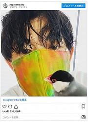 画像は永山瑛太Instagramのスクリーンショット