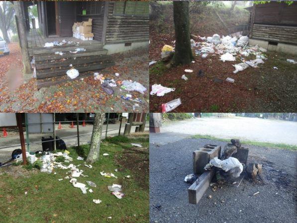 [画像] ゴミ、路駐、芝生での直火に柵破壊も... 「聖地」一時閉鎖に追い込んだ迷惑キャンプ客の行状