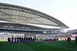 リーグ再開を前に、Jリーグが公開した動画が反響を呼んでいる。写真:山崎賢人(サッカーダイジェスト写真部)