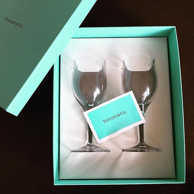 ティファニー ワイン グラス