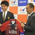 鹿島は大学サッカー界のエースFWである上田綺世の獲得に成功した