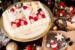 """Q-pot CAFE.「お菓子の国の物語」のクリスマスケーキ&""""くま王子""""の新感覚ケーキパフェ"""