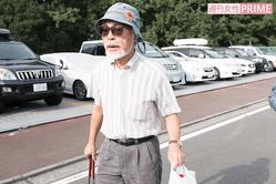2016年、ゴミ拾いをしていた宮崎駿監督