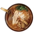 エビの旨味がきいたスープの「海老白湯」(960円) / 海老で鯛を釣る麺堂。神楽