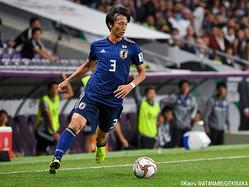 酒井との交代でピッチに立った日本代表DF室屋成(FC東京)
