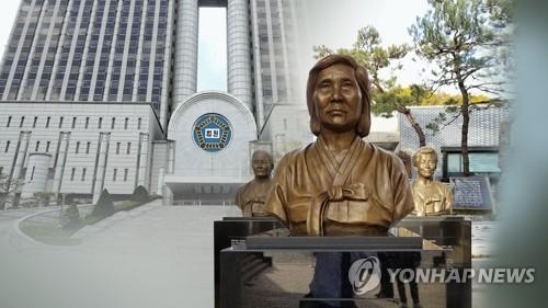 慰安婦被害者の銅像(資料写真)=(聯合ニュースTV)