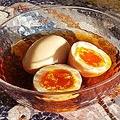 コンビニ煮卵タレで炊き込みご飯