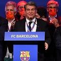 バルセロナ新会長に再任したジョアン・ラポルタ氏