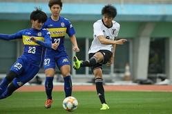 U−20代表だけではなく、G大阪でもさらなる飛躍が期待される中村が奮闘。W杯のメンバー入りに向け、アピールに成功した。写真:滝川敏之