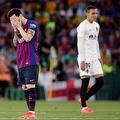 バルセロナは初の5連覇ならず バレンシアが11年ぶり国王杯優勝