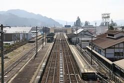 「君の名は。」劇中駅のモデルとなったとされる飛騨古川駅