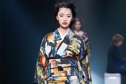 """ヨシキモノ 2020年春夏コレクション - ドレスのように着こなす""""新感覚""""着物"""