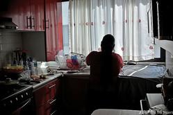 南米で働くメイド(2019年1月18日撮影、資料写真)。(c)Rodrigo ARANGUA / AFP