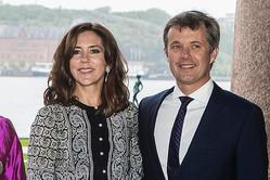 デンマーク王室 フレデリック皇太子夫妻