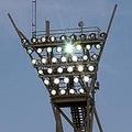 ナイター照明が倒れてくるなんて、誰も予期していないだろう photo/Getty Images