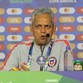 チリ代表のルエダ監督【写真:Football ZONE web】