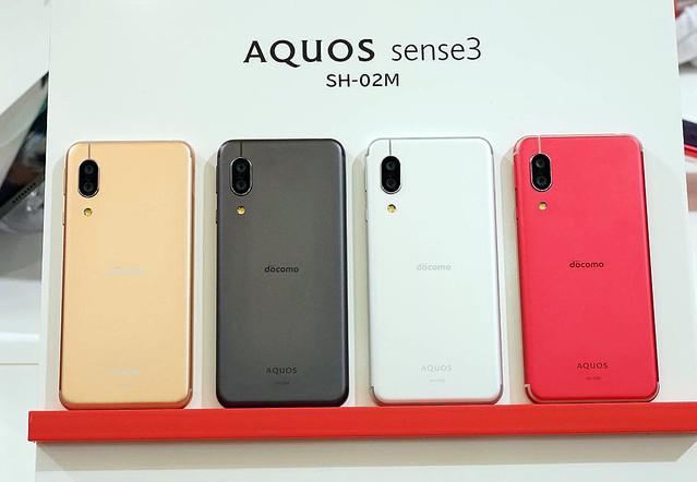 ドコモが「AQUOS sense 3」を11月上旬発売、電池長持ちシャープ製スマホ