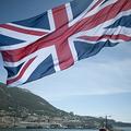 英国旗(2017年9月11日撮影、資料写真)。(c)JORGE GUERRERO / AFP