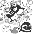 ペンギン界にもBL、略奪、3つ股等の複雑愛が(イラスト/えのきのこ)
