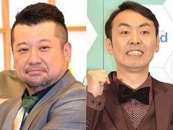 (左から)ケンドーコバヤシ、アンガールズ・田中卓志 (C)ORICON NewS inc.